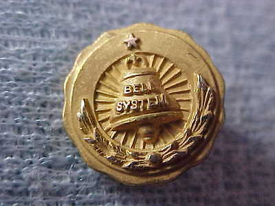 Bell System 10K Gold Filled Pin