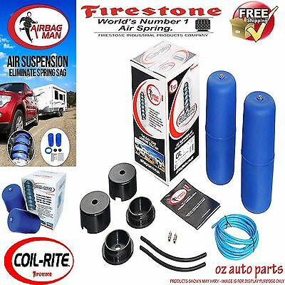 Ford Falcon Ba Bf Lowered Firestone Coil Air Bag Suspension Spring Assist Kit