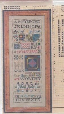 Amish Quilt Sampler Cross Stitch Chart - Told in a Garden design - from my stash
