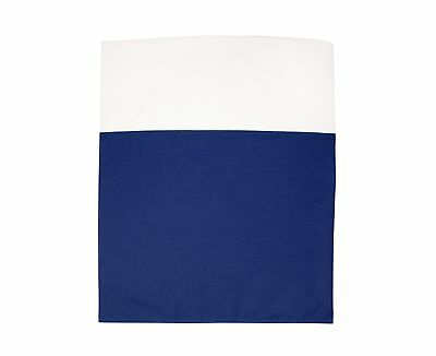 Little Love by NoJo Separates Collection Solid Crib Skirt Navy