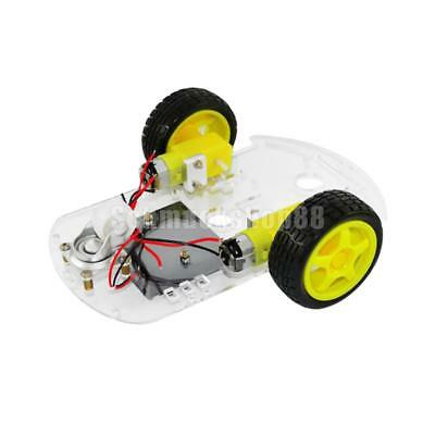 Motor Smart Robot Auto Chassis / Tracing Auto Spielzeug Car Box Kit Speed