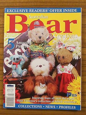 Australian Bear Creations - Volume 17 No.6 Teddies Knitted Clothes 2012