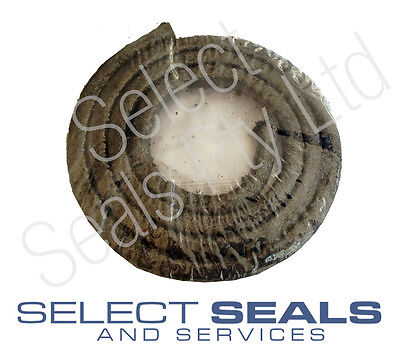 """Graphite Pump & Valve Gland Packing 1/8"""" 3.2 mm 1 Meter Length Style SSS402"""