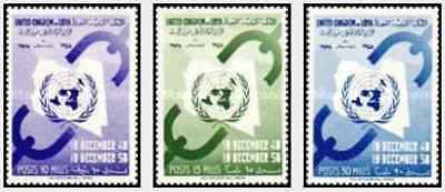 Timbres Libye 168/70 ** lot 22418