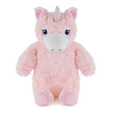 Kids Large Fantasy Themed Unicorn Design Soft Faux Fur Covered Hotwater Bottle