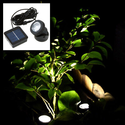6-LED Garden Lights Underwater Solar Powered Spotlight Pool Fish Tank Pond Lamps