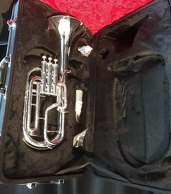 JP 172S SilverPlated tenor horn