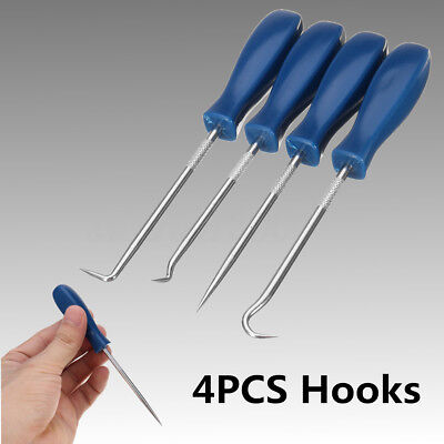 4X Car Pick and Hook Set O Ring Oil Seal Gasket Puller Remover Craft Hand Tool