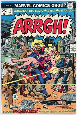 Arrgh! #1 | 1974 Bronze Age Marvel Comic | Comedic Story