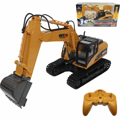AU 2.4G RC 15 Channel Remote Control Excavator Tractor Vehicle Dig Truck Model