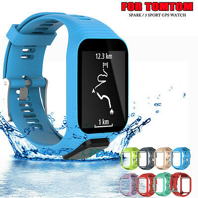 Replacement Silicone Sports Band Strap For TomTom Spark / 3 Sport GPS Watch