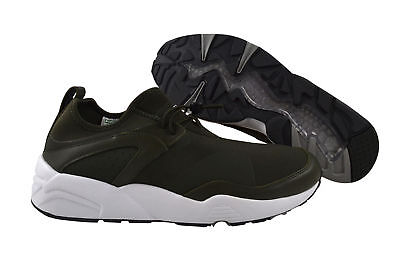 PUMA Blaze of Glory NUX Stampd FOREST NIGHT WHITE Sneaker Scarpe Verde 361493 01