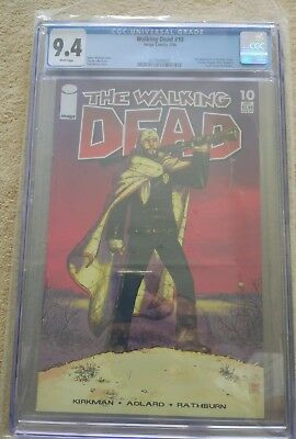 The Walking Dead #10 CGC 9.4 - 2004 - Image Comics - Englisch - 1st app Maggie