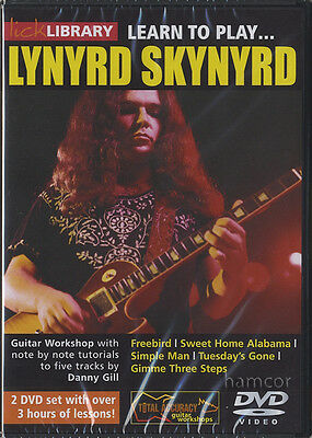 Learn to Play Lynyrd Skynyrd Lick Library Guitar DVD Set by Danny Gill