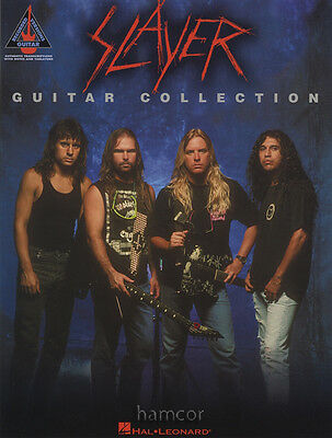 Slayer Guitar Collection Guitar Recorded Versions TAB Music Book