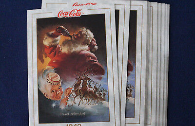 1993 Coca Cola Collection Series 1 Prototype Card #3 Lot of 12 Cards E4021