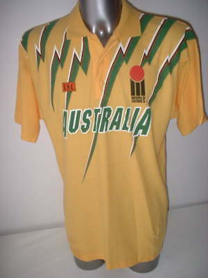 Australia Vintage Adult XL 1993 Cricket Shirt ISC Jersey New Ashes Top Very Rare