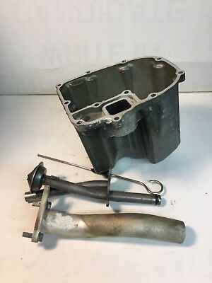 2003 Honda Bf50 Outboard Oil Pan With Dipstick Sump