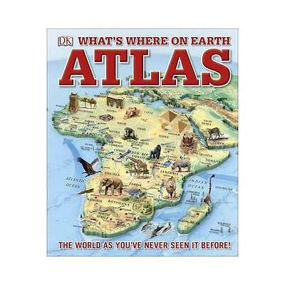 DK What's Where on Earth Atlas by DK