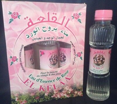 Eau Essence de Rose Hydratante & Nettoyante 250ml 100% Pure & Naturelle