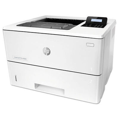 Hewlett-Packard J8H61A LaserJET ProM501DN Office Black & White Laser Printer New