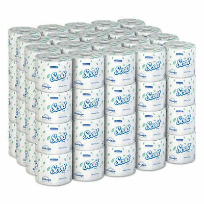 Kimberly-Clark Standard Roll Bathroom Tissue, 1-Ply, 1210 Sheets/roll, 80 Rolls/