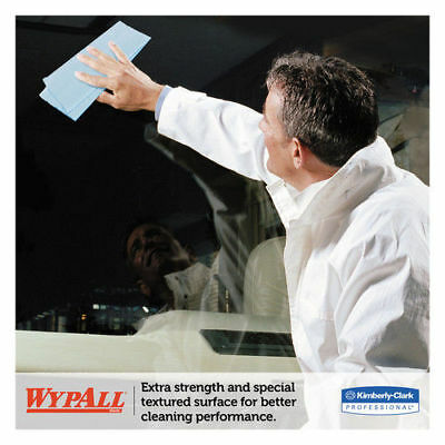 Kimberly-Clark L10 Windshield Wipers, Banded, 2-Ply, 9 3/10 X 10 1/2, 140/pack,