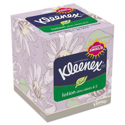 Kleenex 75 Sheets/Box 3-Ply Lotion Facial Tissue (27-Pack) 25829 New