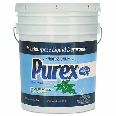 Dial 6354 Purex Mountain Breeze 5-Gallon Multi-Purpose Liquid Detergent New