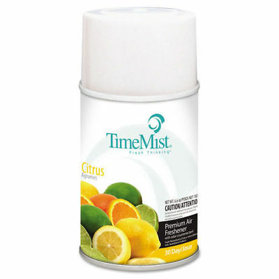 TimeMist Metered Fragrance Dispenser Refill, Citrus, 6.6oz, Aerosol 1042781 NEW
