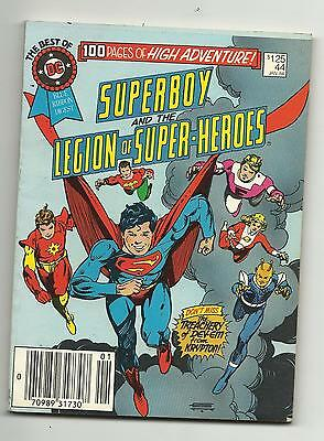 Best of DC Blue Ribbon Digest #44 Superboy & the Legion of Super-Heroes FN+ 6.5