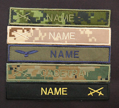 CADPAT / NATO style name tape (Single) nametape SEVERAL colors available!