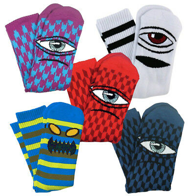 TOY MACHINE - Skateboard Socks - Assorted colours and styles - Monster, Sect etc