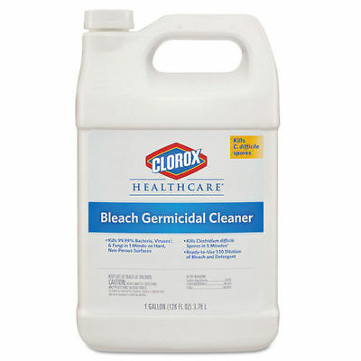 Clorox Hospital Cleaner Disinfectant W/bleach, 128 Oz Refill, 4/carton 68978 NEW