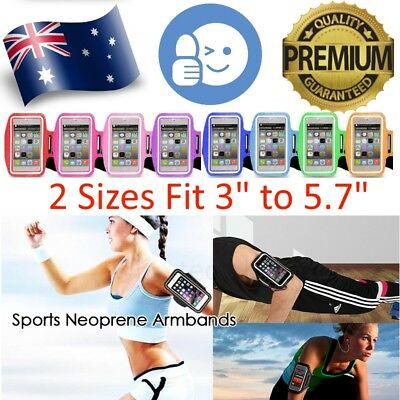 Mobile Phone Armband Sport Running Arm Band Bag Holder Case for iPhone Samsung