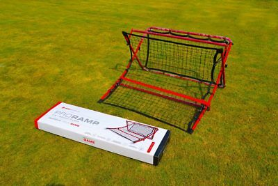 Pro Ramp Tough Steel X Frame Soccer Skill Trainer Trapping Heading Passing NEW