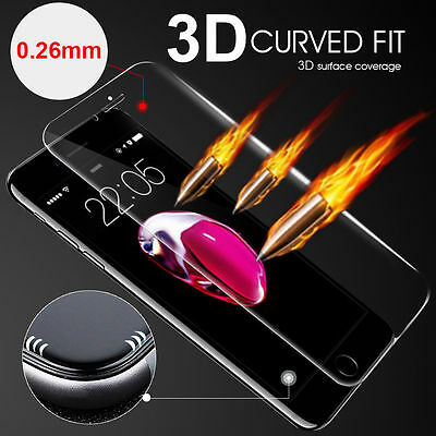 For iPhone 6 7 Plus Full Coverage Tempered Glass Screen Protector Film 3D LOT