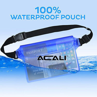 ACALI Waterproof Underwater Sports Swimming Beach Pool Pouch Dry Bag Case Cover