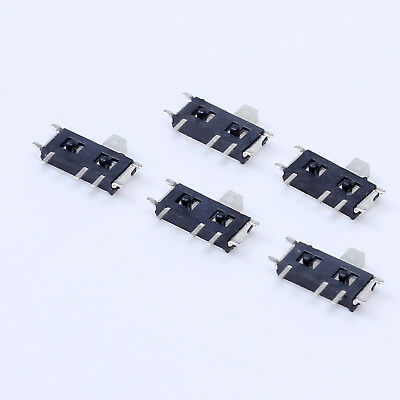 100pcs MSK12C02 MINI SMD Slide Switch 1P2T 7Pin for DIY Electronic Accessories