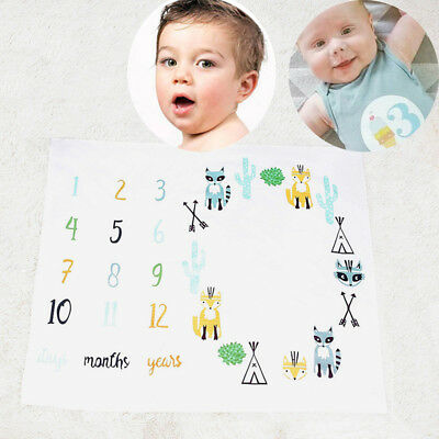 Photos Background Photography Monthly Props Stroller covers Newborn Baby Blanket