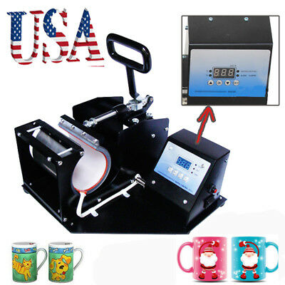 Dual Double Digital Transfer Sublimation Heat Press Machine for T-Shirt Mug Hat