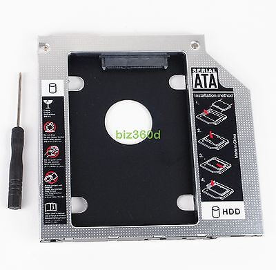 2nd SSD HD Hard Drive Caddy for Dell Inspiron 15 5000 Series 5555 5558 5559 5570