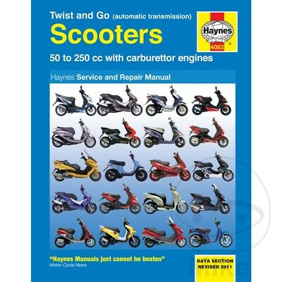 Scooter Haynes Service Repair Manual 4082