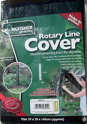 Kingfisher Rotary Line Cover 29 X 29 X 145Cm Washing Clothes Drying Dryer Cov112