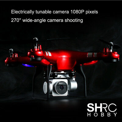 SH5HD RC Quadcopter 1080P Wide Angle Lens 270° Rotating HD Camera Drone FPV Gift