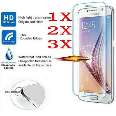 3Pack 9H Premium Tempered Glass Screen Protector for Samsung Galaxy Note 3 4 5