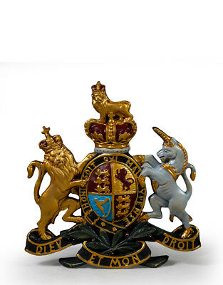 Hand Painted Royal Warrant Coat of Arms