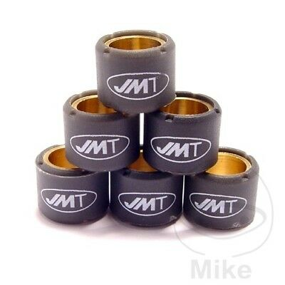 Scooter Variomatic Roller Weights 13.5G JMT 20x12mm 6 Pcs