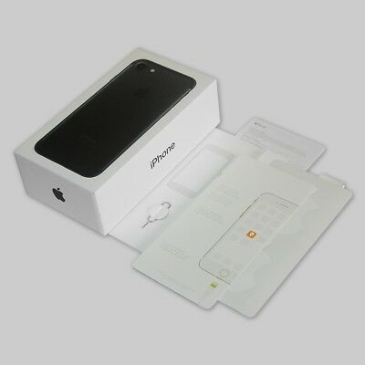 EU version Retail Box ONLY with manuals for Apple iPhone 7 Black