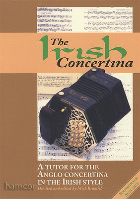 The Irish Concertina Learn How to Play Anglo Concertina Tutor Method Book
